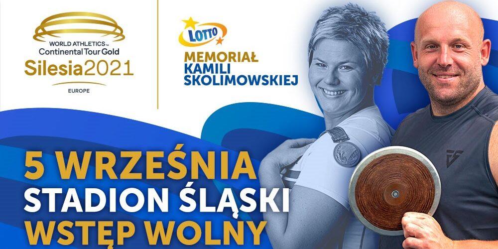 Banner Memoriał Kamili Skolimowskiej